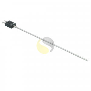 Mineral Insulated Thermocouple with Miniature Flat Pin Plug