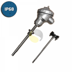 Mineral Insulated Thermocouple Assembly with 4-20mA Temperature Transmitter