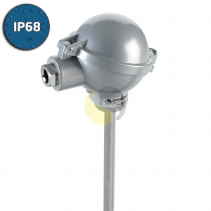 Heavy Duty Thermocouple with Industrial (BUZ) Head