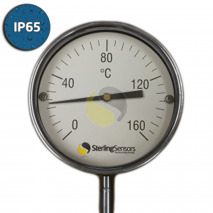 Direct Mount Dial Thermometer IP65