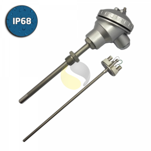 Type K Mineral Insulated Thermocouple Industrial Assembly