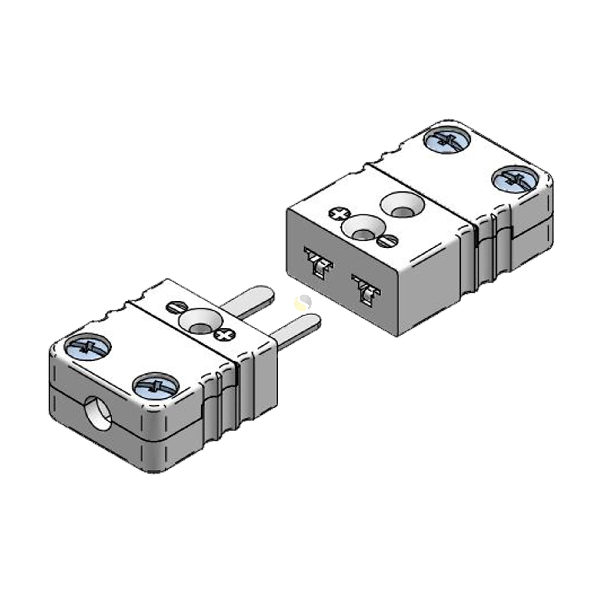 Ceramic Thermocouple Connectors Miniature
