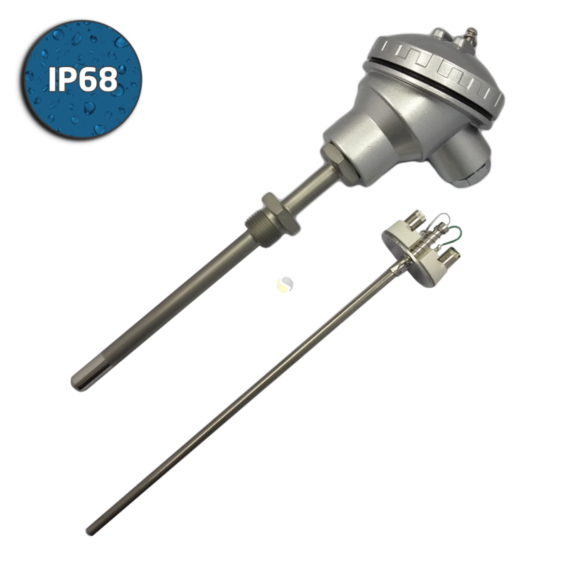 High Temperature Industrial Thermocouple Assembly