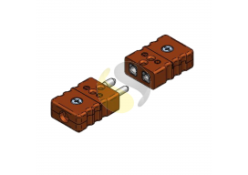High Temperature Standard Thermocouple Connectors