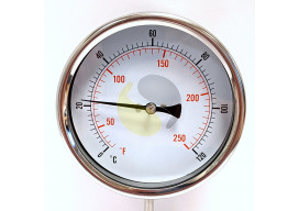Dial Thermometer (Bimetal 100mm)