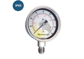 Sterling Sensors Pressure Gauge IP65 Rated