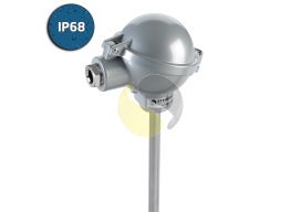 Heavy Duty Thermocouple with Industrial (BUZ) Head