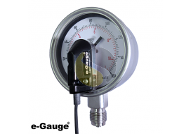Pressure Gauge Transmitter with 4-20mA Output