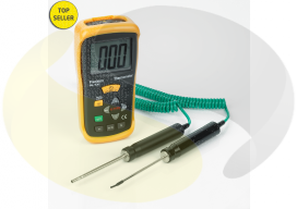 Dual Input Hand Held Digital Thermometer Kit