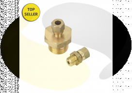 Brass Adjustable Compression Fittings