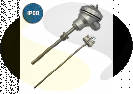 High Temperature Industrial Thermocouple Assembly (Mineral Insulated)