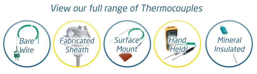 View our Thermocouple Range