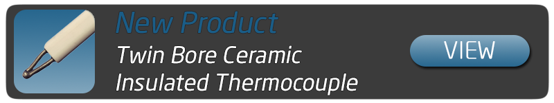 Twin Bore Ceramic Wire Thermocouple