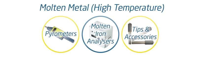 Molten Metal Sensors (High Temperature)